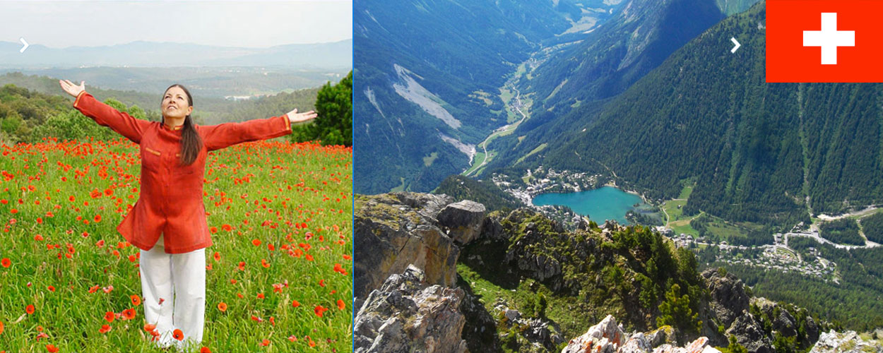 Curso con Montserrat Gascon en Champex-Lac (Suiza)